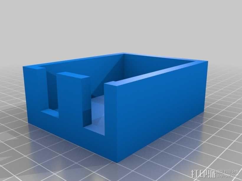 竖琴 3D模型  图3