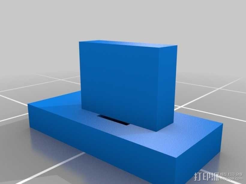 竖琴 3D模型  图2