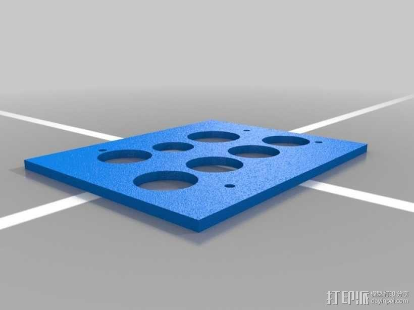 竖琴 3D模型  图4
