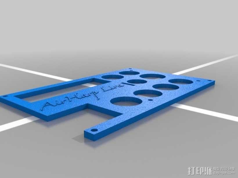 竖琴 3D模型  图8