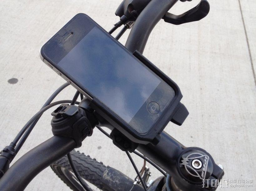 车载iphone手机座 3D模型  图1
