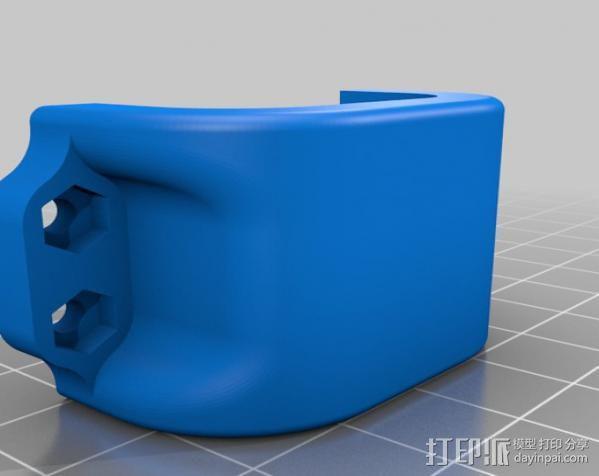 车载iphone手机座 3D模型  图8