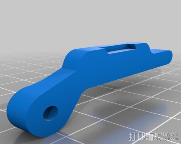 车载iphone手机座 3D模型  图10