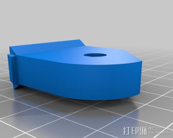 车载iphone手机座 3D模型  图9