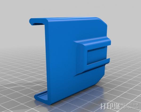 车载iphone手机座 3D模型  图11