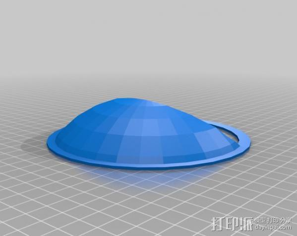 活动房屋排气罩 3D模型  图4