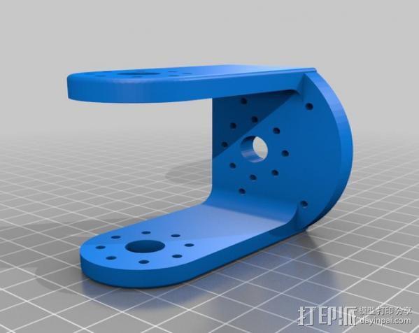 手臂支架 3D模型  图2
