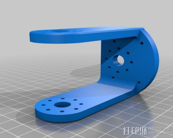 手臂支架 3D模型  图3