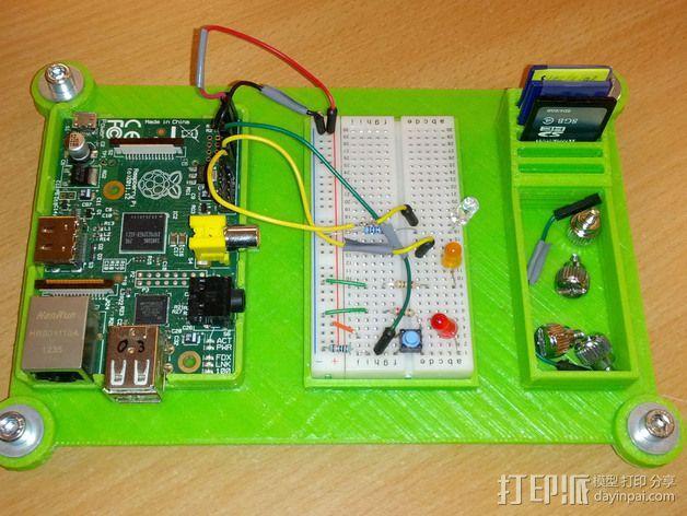 接线板 3D模型  图1