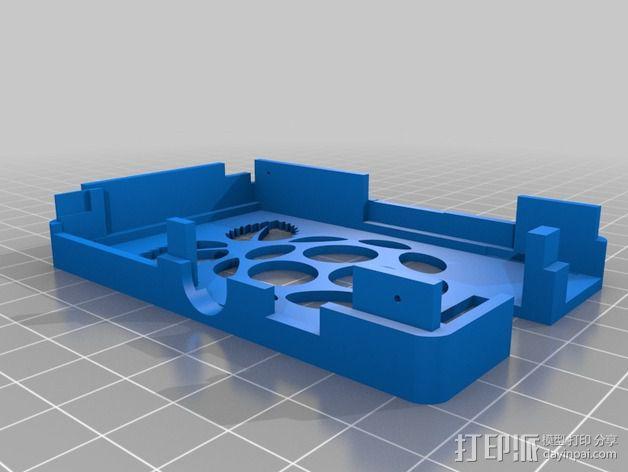 接线板 3D模型  图2