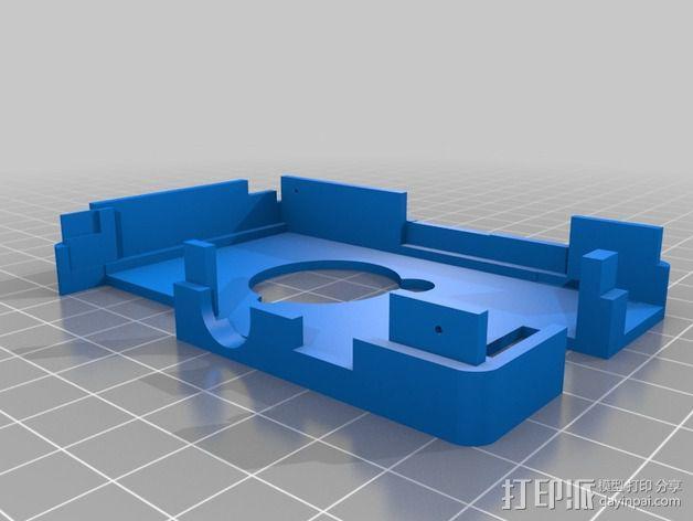 接线板 3D模型  图5