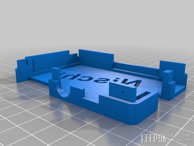 接线板 3D模型  图4