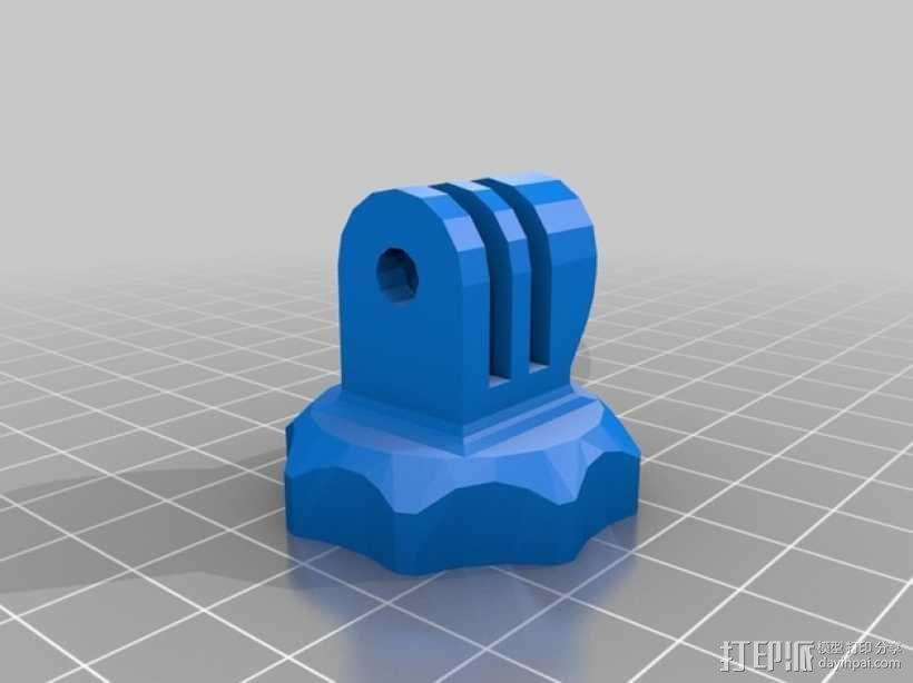螺丝卡槽 3D模型  图1