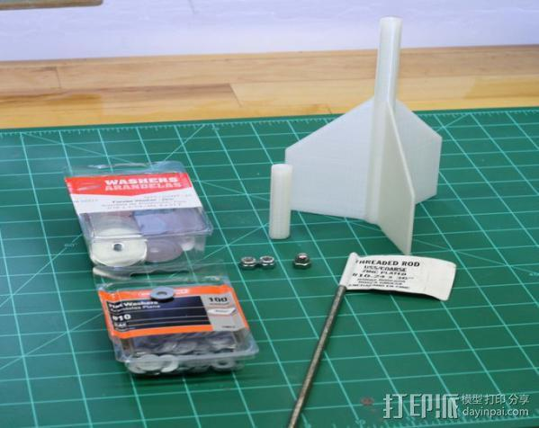 3D打印飞镖 3D模型  图2