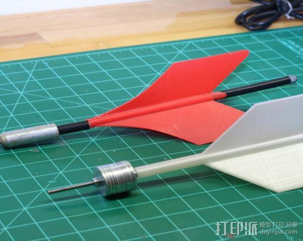 3D打印飞镖 3D模型  图3