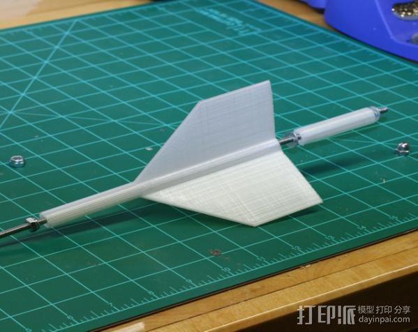 3D打印飞镖 3D模型  图5