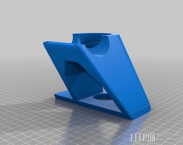 折叠自行车底座 3D模型  图6