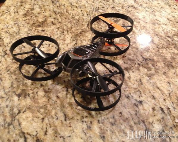 直升机飞行器 3D模型  图3