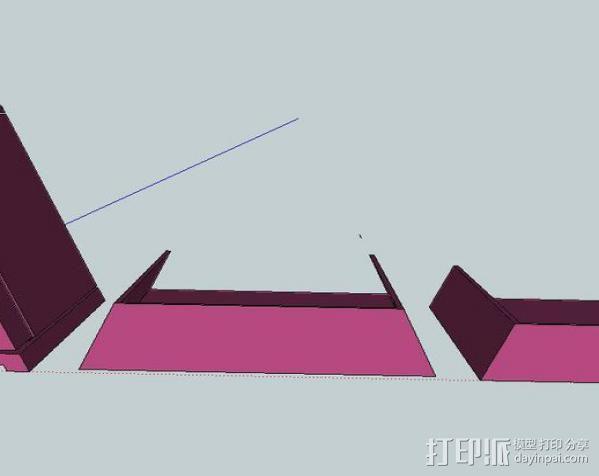 Zlice 壳子 3D模型  图1