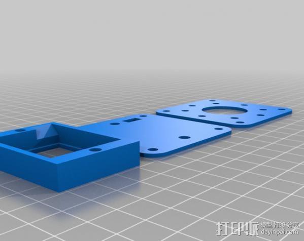 NAZE32外壳 3D模型  图2