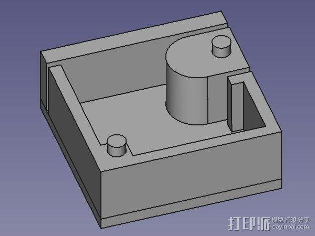 芯片分割器 3D模型  图1
