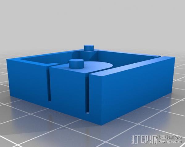 芯片分割器 3D模型  图4