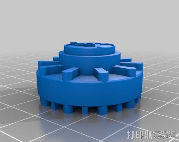 传动链轮 3D模型  图1