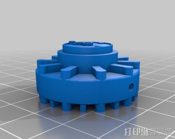 传动链轮 3D模型  图2