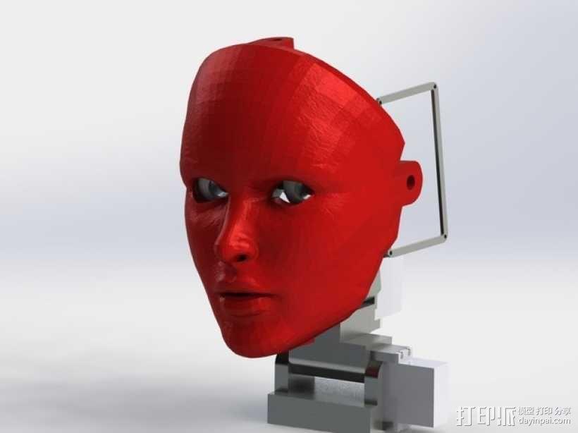 人脸面具 3D模型  图1