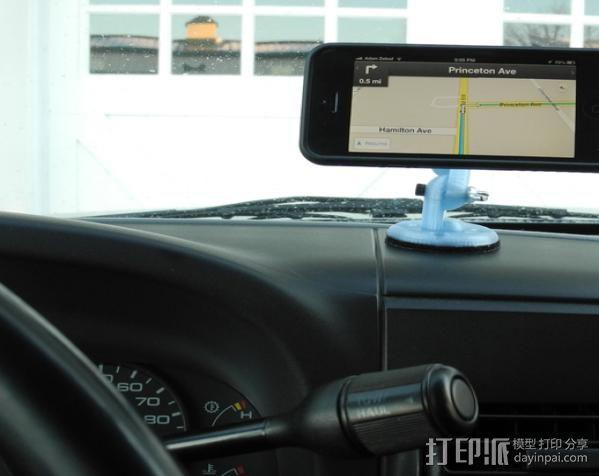 手机导航支架 3D模型  图5