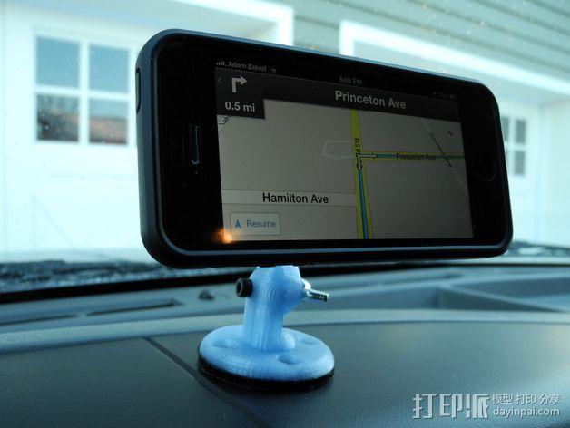 手机导航支架 3D模型  图6