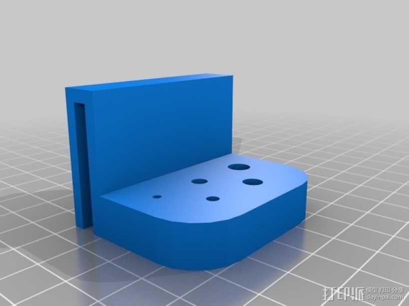 简易刀架 3D模型  图1