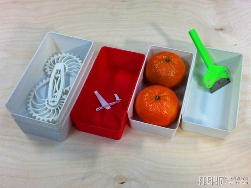 零散物件盒 3D模型  图3