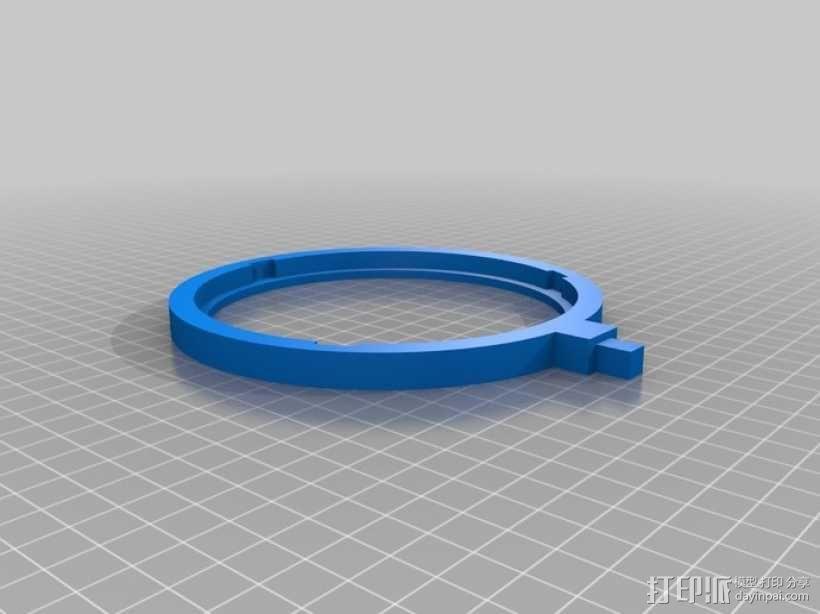 流行网面盾牌 3D模型  图3