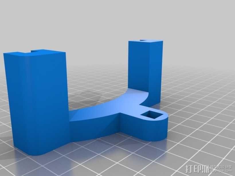 流行网面盾牌 3D模型  图2
