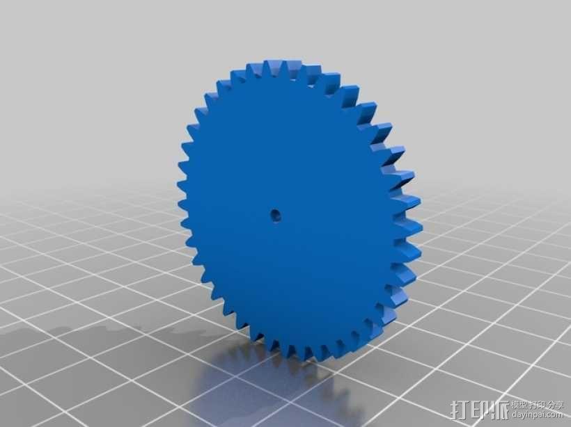 齿轮 3D模型  图7