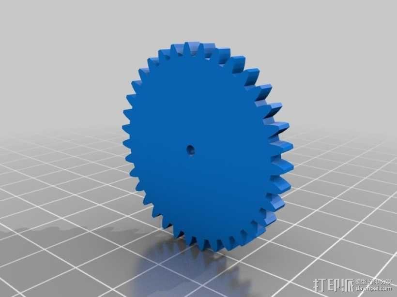 齿轮 3D模型  图9