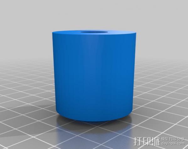 滚轴 3D模型  图2