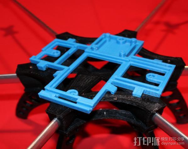 六旋翼 3D模型  图4