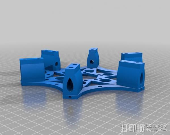 六旋翼 3D模型  图3