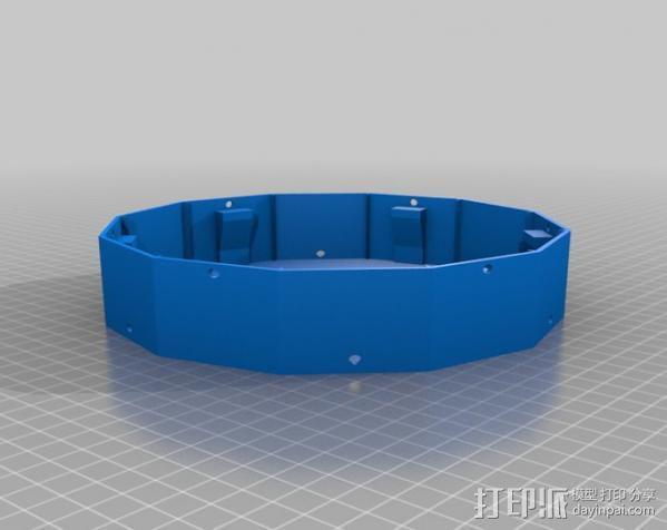六旋翼 3D模型  图9