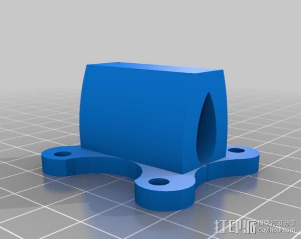 六旋翼 3D模型  图10