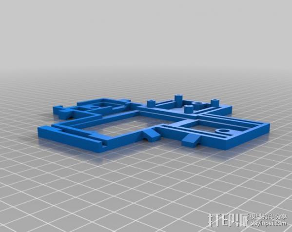 六旋翼 3D模型  图11