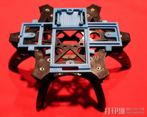 六旋翼 3D模型  图26