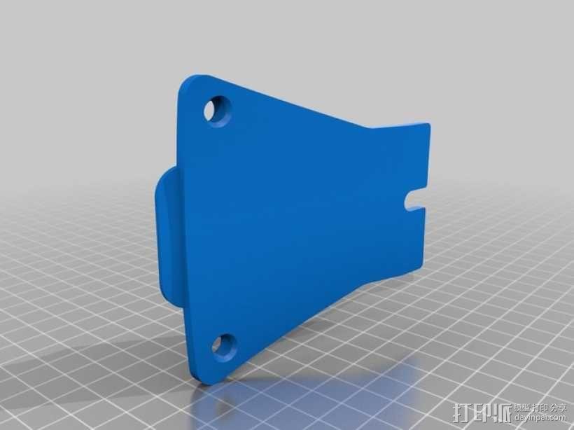 相机挂载 3D模型  图1
