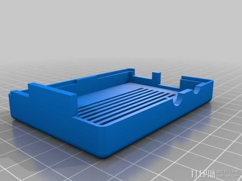 树莓派壳 3D模型  图5