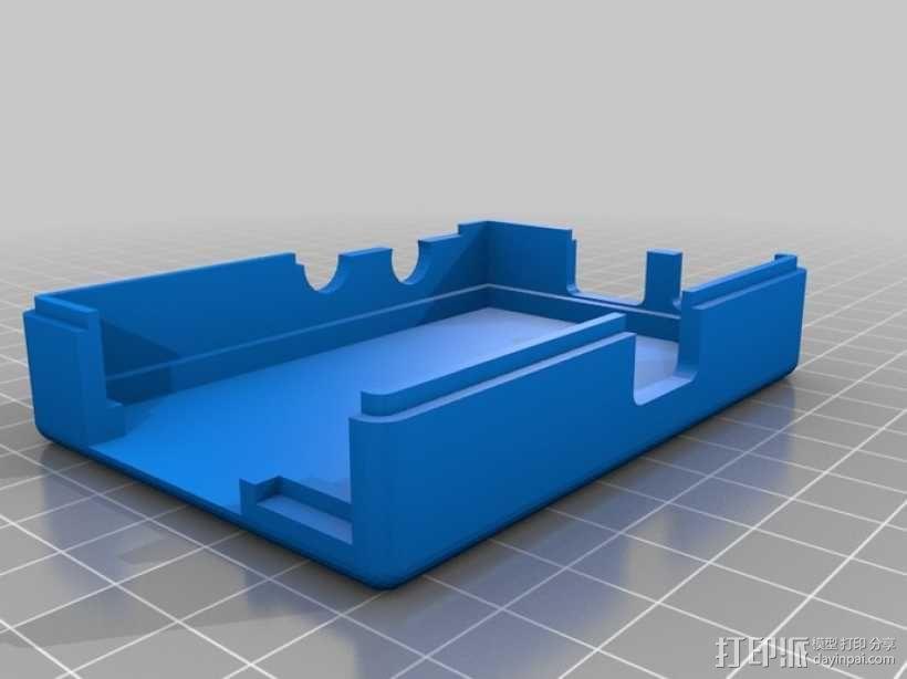 树莓派壳 3D模型  图4