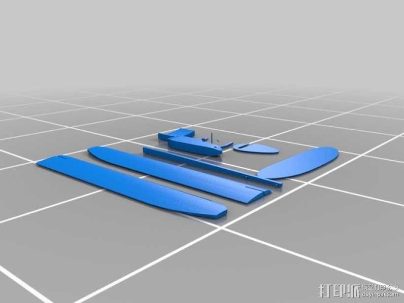 滑翔机 3D模型  图5