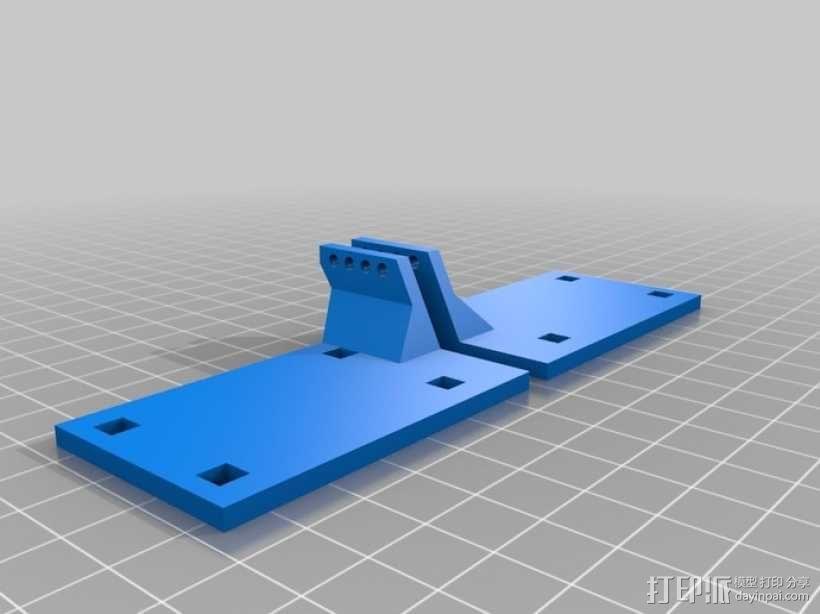 Towel RC飞机的伺服蜂鸣 3D模型  图1