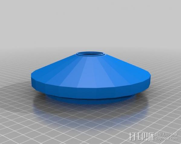 运动传感器外壳 3D模型  图1